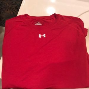 Under Armour HeatGear Charged Dry Fit T shirt